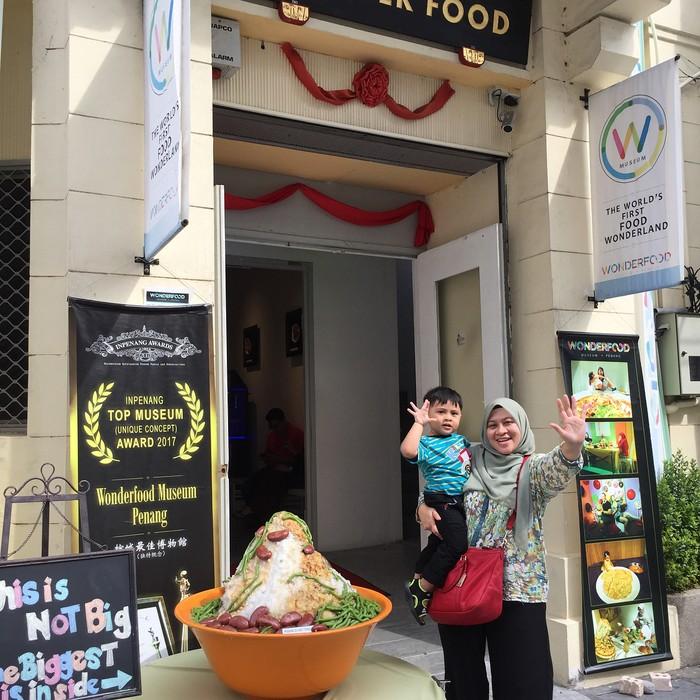 Ini dia Penang Wonderfood Museum yang ada di 49, Lebuh Pantai, Georgetown, Penang. Buka setiap hari jam 9 pagi hingga 6 sore. (Foto: Istimewa)