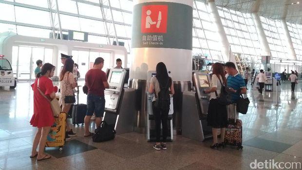 Xiamen Gaoqi International Airport.