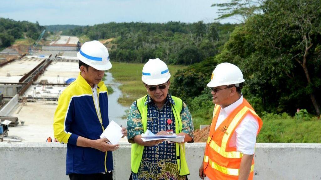 Jokowi Turun Tangan Cek Perkembangan Tol Pertama Kalimantan