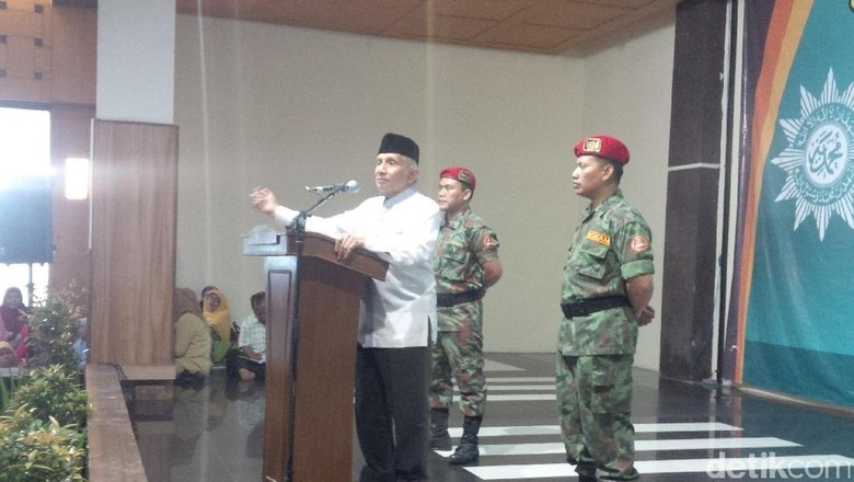 Amien Rais: Perppu Ormas Ini Langkah Jokowi yang Fatal