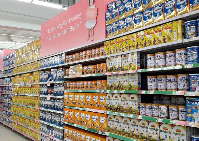 Promo Susu Anak di Transmart Carrefour (Foto: Dok. Transmart Carrefour)