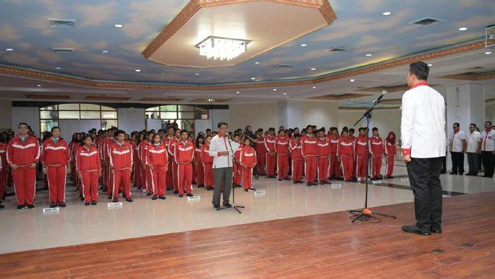 Acara pelepasan kontingen Indonesia oleh Menpora Imam Nahrawi (Foto: ist.)