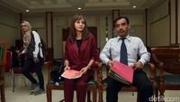 Vonis cerai didapat Kirana Larasati pada hari ini, Kamis (13/7) di Pengadilan Agama Jaksel. Foto: Noel