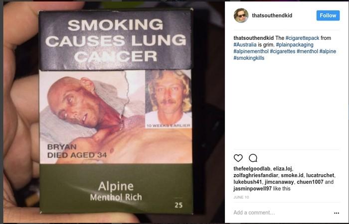 Hii! Ini Gambar Seram di Bungkus Rokok dari Berbagai Belahan