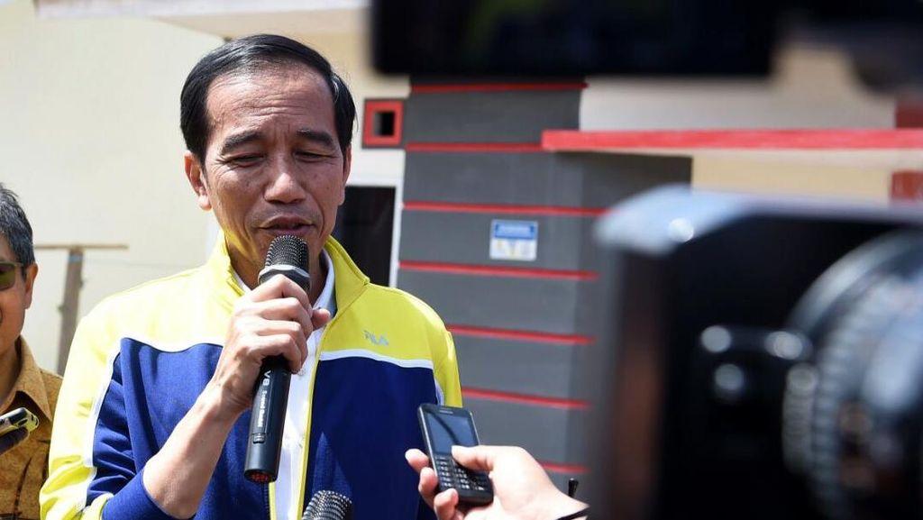 Cerita Jokowi Tanya Kesiapan Palangka Raya Jadi Ibu Kota