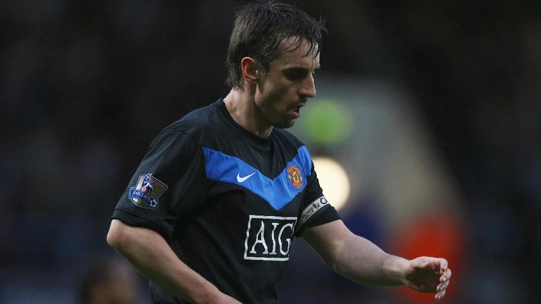 Gary Neville legenda Manchester United (Getty Images/Richard Heathcote)