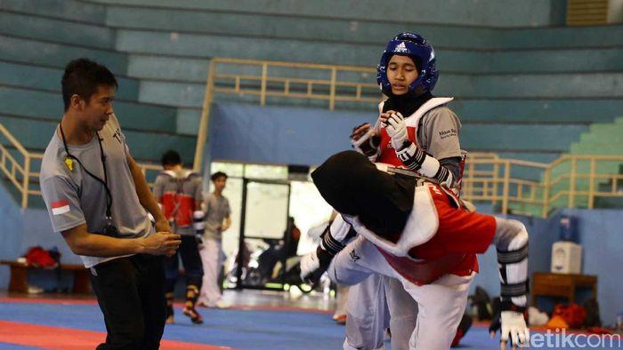Ilistrasi pelatnas taekwondo jalan terus. (Hasan Alhabshy/detikSport)