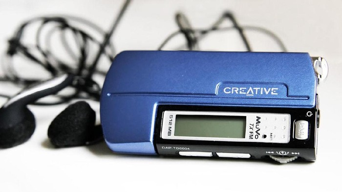 Ilustrasi pemutar MP3. Foto: Istimewa