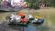 Bersihkan Sungai 4 Hari, LSM Lingkungan Temukan 3,4 Kuintal Popok