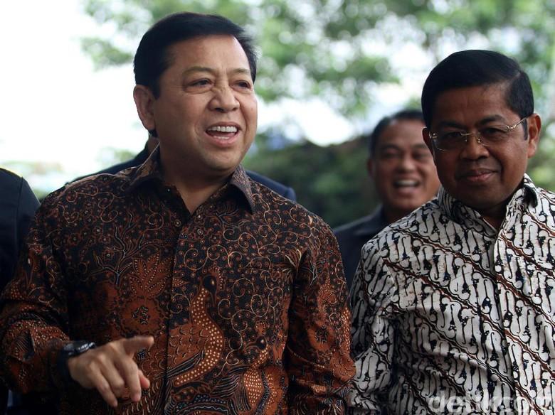 Golkar Sebut Penetapan Tersangka Novanto Jadi Pemacu Kinerja Anggota