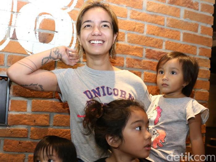 Sheila Marcia saat ditemui di CGV Grand Indonesia.