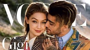 Zayn Malik dan Gigi Hadid Kembali Pamer Kemesraan di Sampul Majalah