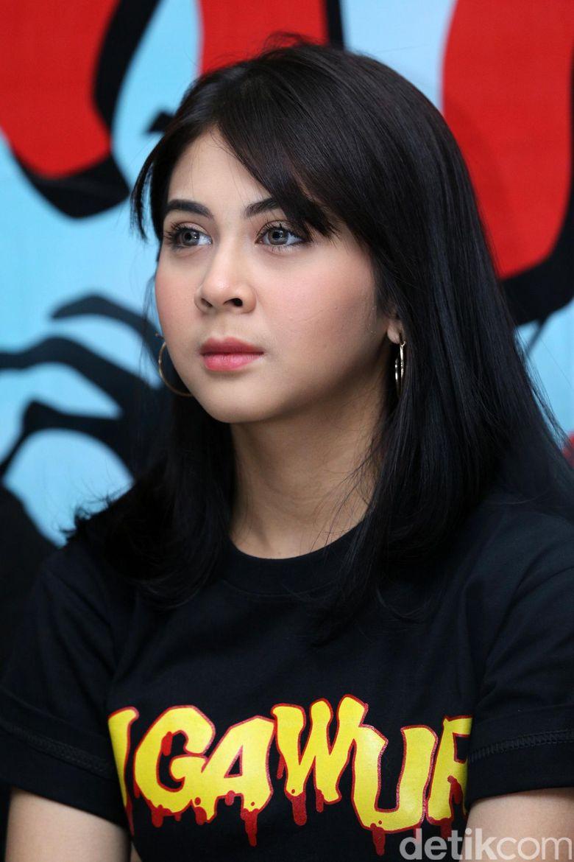 Kesha Ratuliu saat ditemui di kawasan Mampang, Jakarta Selatan pada Kamis (13/7).
