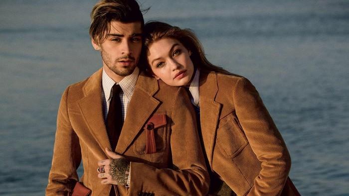 Gigi Hadid dan Zayn Malik di Vogue Amerika