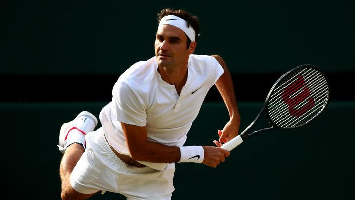 Roger Federer dijagokan menjuarai Wimbledon 2017 (Foto: Getty Images/Clive Brunskill)