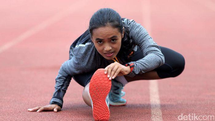 Atlet Triyaningsih terus menggeber persiapan jelang Asian Games 2018 (Foto: Agung Pambudhy)