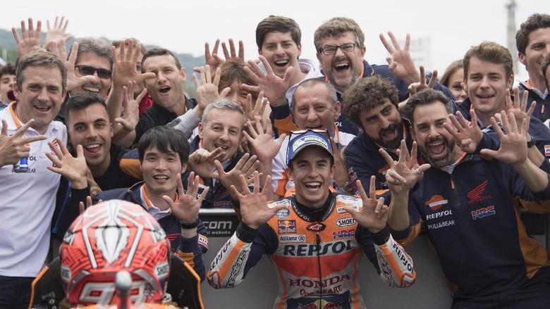 Lanjutkan Kemenangan Rutin di MotoGP Jerman, Marquez?