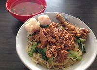 Mie ayam Mataram yang enak di Jakarta Selatan.