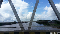 Sungai di Kabupaten Sanggau.