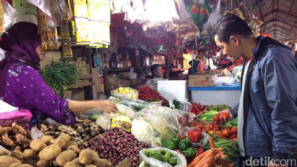 Sidak Pasar Pekanbaru, Satgas Pangan: Penimbun Sembako Dipidana
