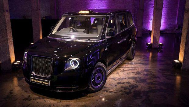 Taksi Hitam London Berbekal listrik