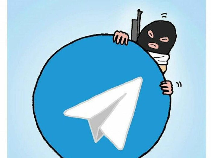 Telegram Sarang Teroris? Foto: Istimewa
