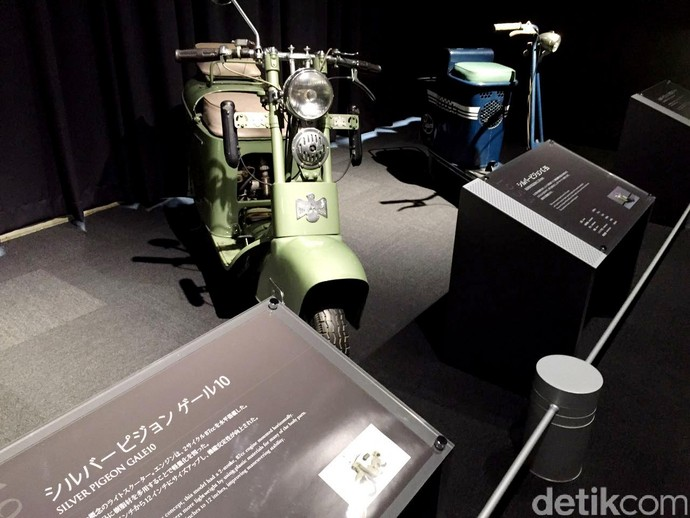 Ini Lho Skuter Produksi Mitsubishi