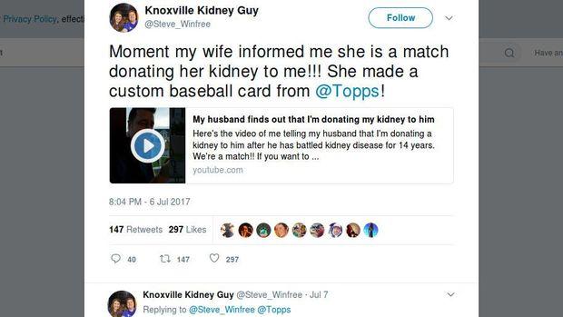 Kisah Haru Istri yang Donorkan Ginjal untuk Suaminya