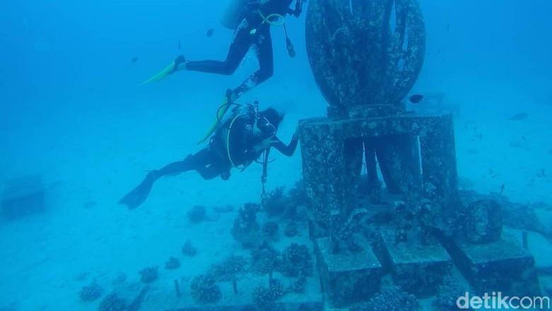 Tugu KM 0 bawah laut Sabang (Kamal/detikTravel)