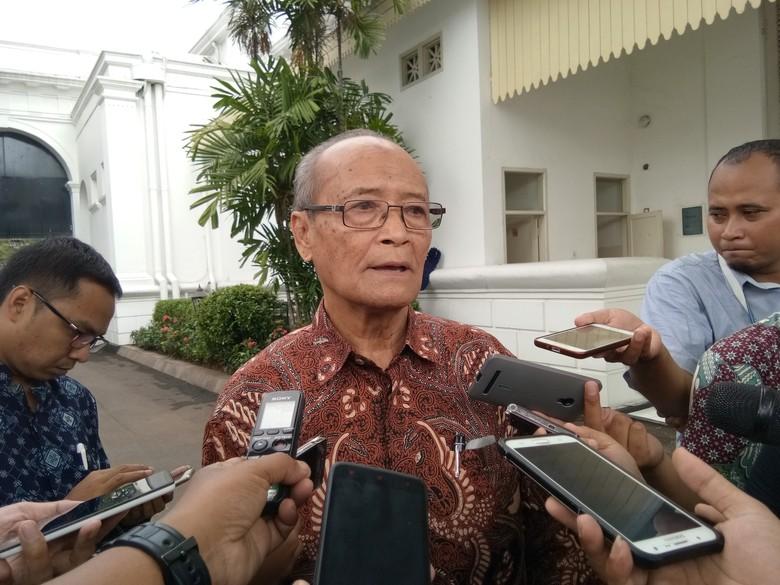 Buya Syafii: Jokowi Tak Peduli Popularitas, Saya Bilang Dia Berani