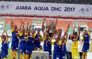SSB Batu Agung Kalsel Juara Aqua Danone Nation Cup
