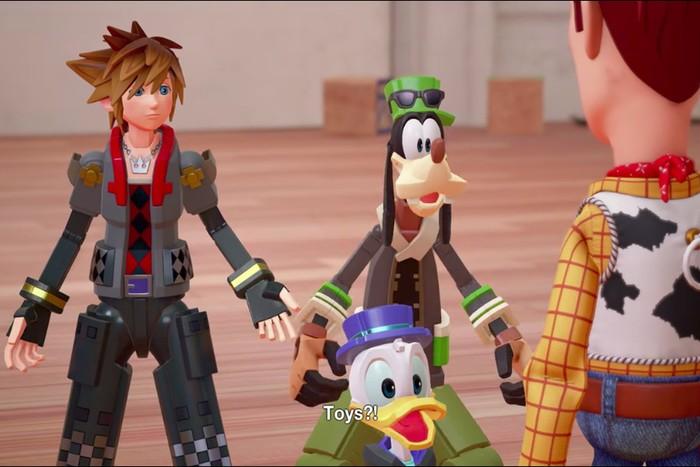 Kingdom Hearts 3 yang juga memunculkan sosok Winnie the Pooh (Foto: istimewa)