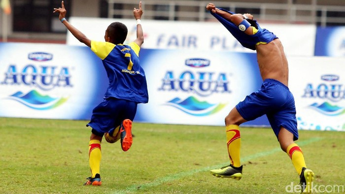 Provinsi  Kalimantan Selatan yang diwakili oleh Sekolah Sepak Bola (SSB) Batu Agung menjadi juara  putaran final nasional Aqua Danone Nation Cup 2017 yang berlangsung di Stadion Pakansari Cibinong Bogor Jawa Barat, Minggu (16/7/2017).