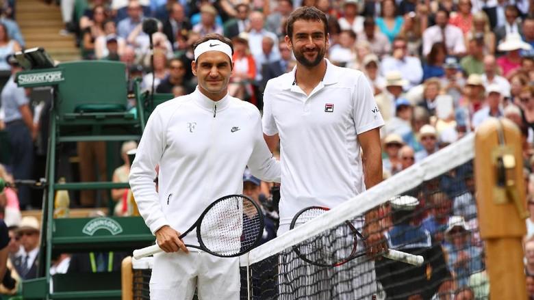 Federer Raja Wimbledon