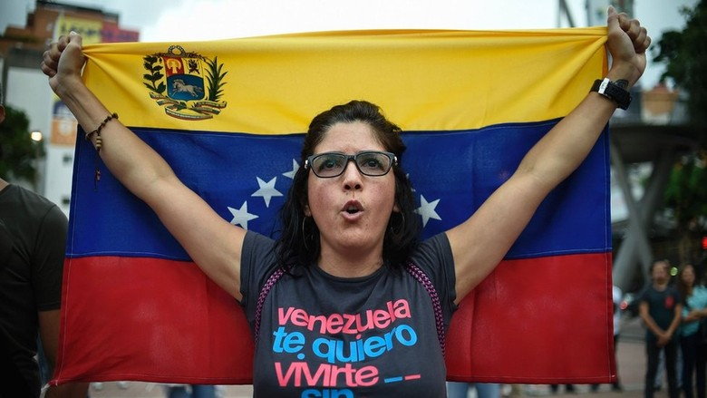 Wanita 61 Tahun Ditembak Mati, Krisis Venezuela Terus Berlanjut