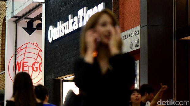 Toko Onitsuka Tiger di Osaka, Jepang