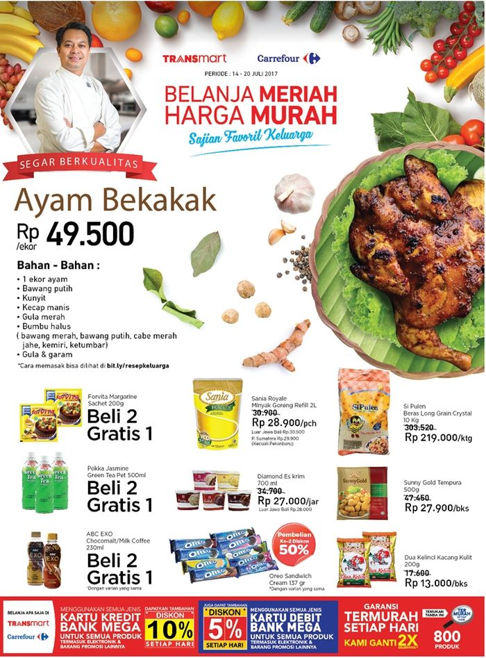 Promo barang groseri (Foto: Dok. Transmart Carrefour)