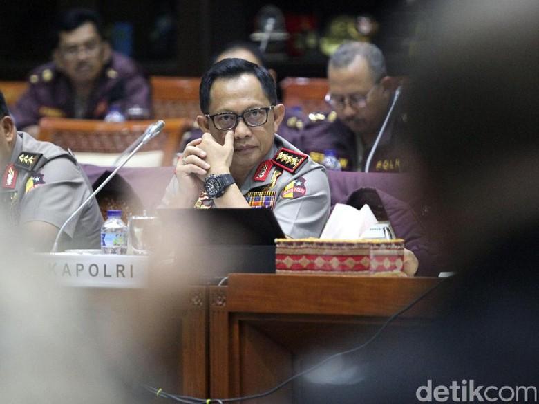 Kapolri: Satgas Anti-politik Uang Tak Menarget Parpol Tertentu