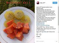 Camilan buah favorit Anjar untuk diet