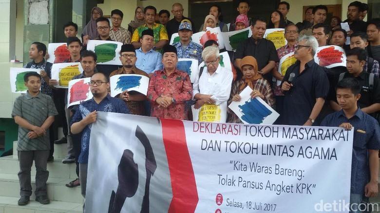 Kita Waras Bareng: Warga Yogyakarta Tolak Hak Angket KPK