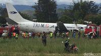 Pesawat Tri MG Asia Tergelincir, Runway Bandara Wamena Terblok