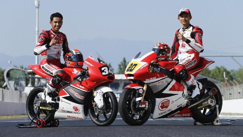 Dimas Ekky dan Andi Gilang Beraksi di Seri Terakhir FIM CEV 2017