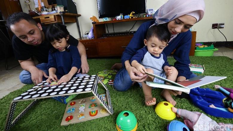 Bagi yang Berencana Tambah Momongan, Begini Rasanya Punya 2 Anak (Foto: Hasan/ detikcom)