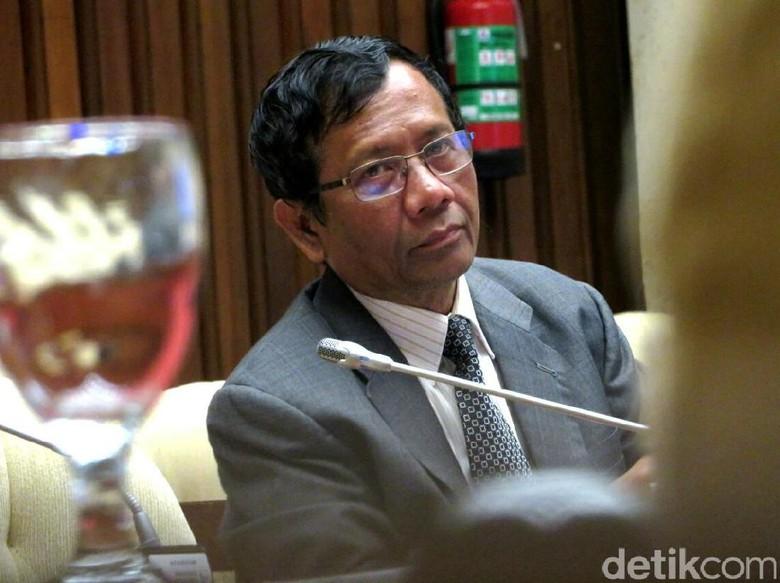 Mahfud Masuk Bursa Cawapres Jokowi, PDIP: Kami Tahu Rekam Jejaknya