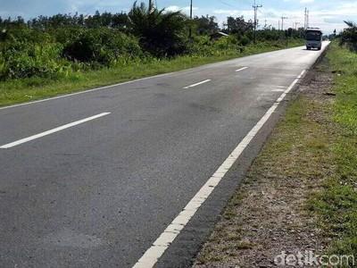 Mengintip Jalan Mulus di Calon Ibu Kota RI Palangka Raya
