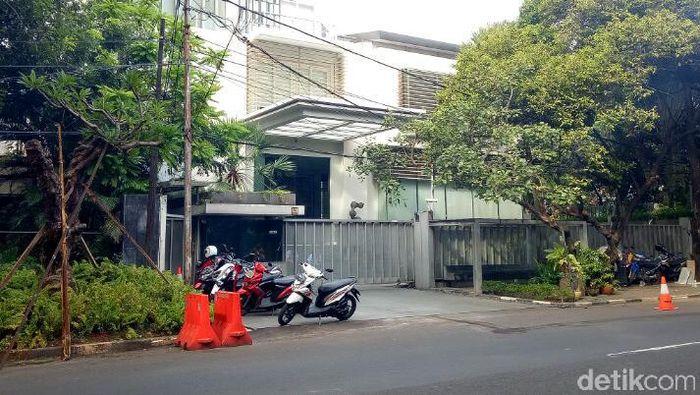 Salah satu rumah Novanto. Foto: Fida/detikcom