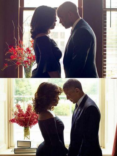 Pose-pose Kreatif Pasangan yang Tiru Foto Michelle dan Barack Obama