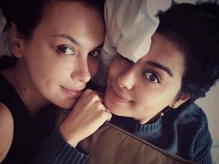 Sophia Latjuba dan Eva Celia. Foto: dok. Instagram (Sophia Latjuba)