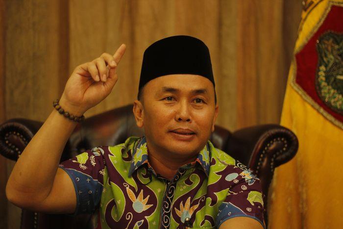 Gubernur Kalteng Sugianto Sabran (Foto: Noval/detikcom)