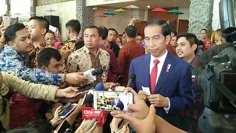 HTI Dibubarkan, Jokowi: Kami Dapat Masukan Termasuk dari Ulama